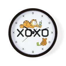 XOXO Pooky Wall Clock