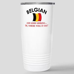 Good Lkg Belgian 2 Stainless Steel Travel Mug