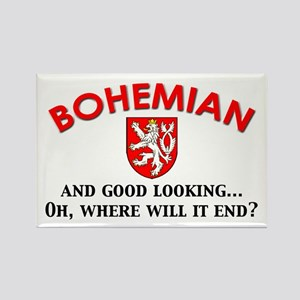 Good Lkg Bohemian 2 Rectangle Magnet