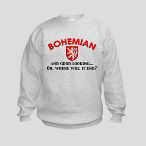 Good Lkg Bohemian 2 Kids Sweatshirt