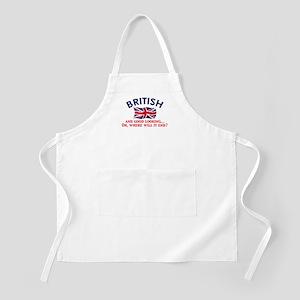 Good Lkg British 2 BBQ Apron