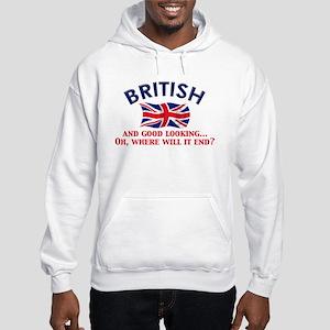 Good Lkg British 2 Hooded Sweatshirt