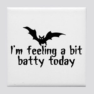 A Bit Batty Tile Coaster