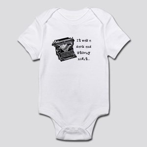cddbdc9c0 Snoopy Dark And Stormy Night Baby Clothes   Accessories - CafePress