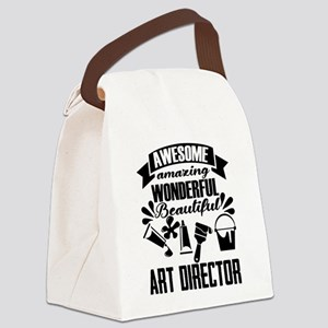 Art Director Canvas Lunch Bag
