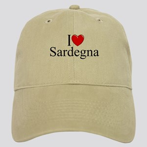 """I Love (Heart) Sardegna"" Cap"