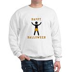 Dick In A Pumpkin Sweatshirt