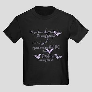 Butterflies in my tummy... Kids Dark T-Shirt