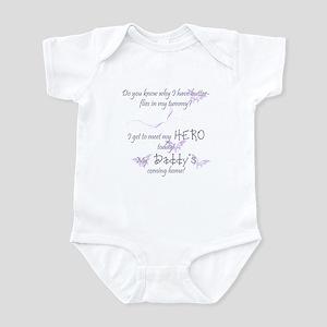 Butterflies in my tummy... Infant Bodysuit