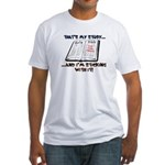 Sticking With It KJV Fitted T-Shirt