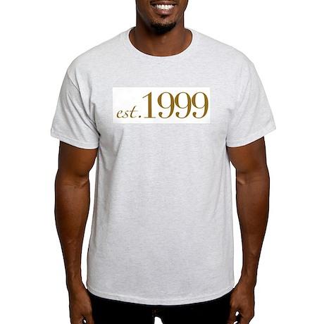 Est. 1999 (10th Birthday) Light T-Shirt