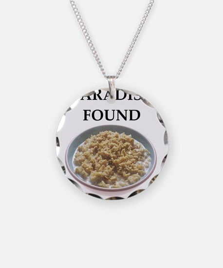 oatmeal Necklace