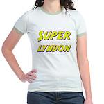 Super lyndon Jr. Ringer T-Shirt