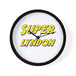 Super lyndon Wall Clock