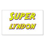 Super lyndon Rectangle Sticker