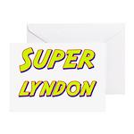 Super lyndon Greeting Card