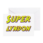 Super lyndon Greeting Cards (Pk of 10)