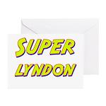 Super lyndon Greeting Cards (Pk of 20)