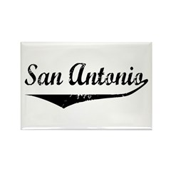 San Antonio Rectangle Magnet