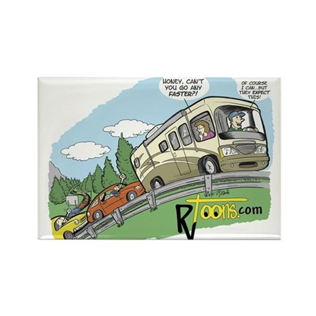 RV Going Uphill Magnets