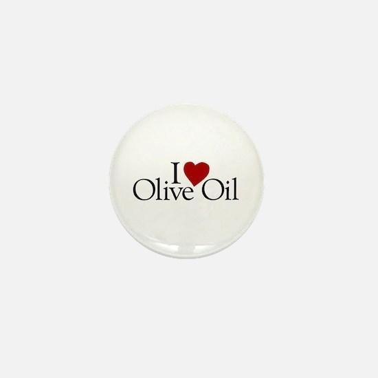 I Love Olive Oil Mini Button