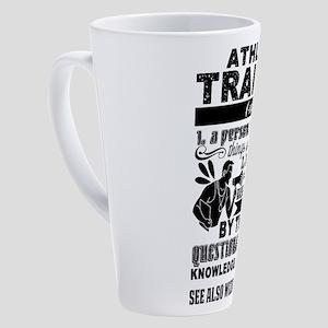 Athletic Trainer 17 oz Latte Mug