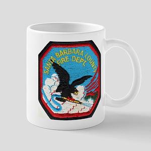 Sta Barbara Co. Fire Mug