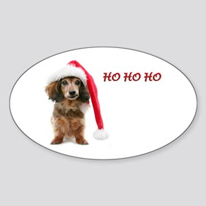 Ho Ho Ho Oval Sticker