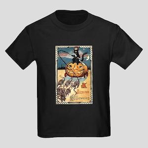 Joyous Halloween Kids Dark T-Shirt
