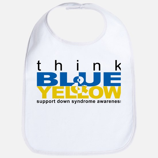 Think Blue And Yellow Bib
