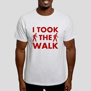 I Took The Walk Light T-Shirt
