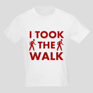 I Took The Walk Kids Light T-Shirt