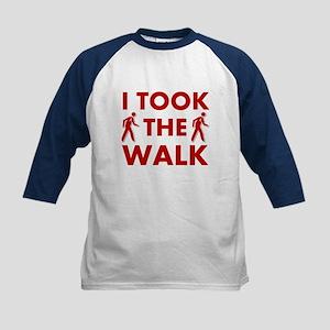 I Took The Walk Kids Baseball Jersey