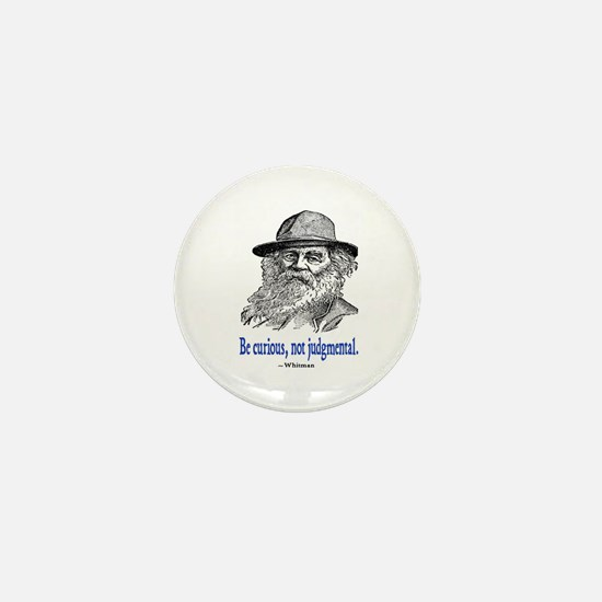 WHITMAN QUOTE Mini Button