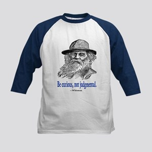 WHITMAN QUOTE Kids Baseball Jersey