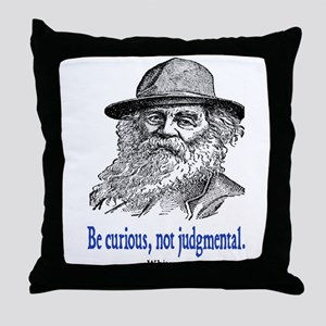 WHITMAN QUOTE Throw Pillow