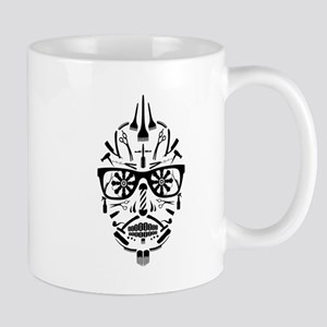 barbershop punk skull Mugs