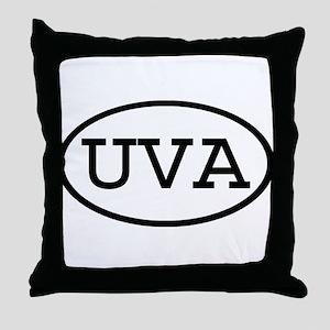 UVA Oval Throw Pillow