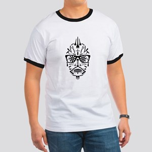 barbershop punk skull T-Shirt