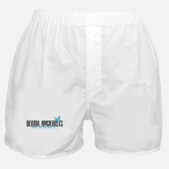 Dental Hygienists Do It Better! Boxer Shorts