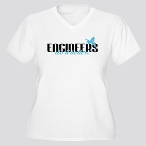 Engineers Do It Better! Women's Plus Size V-Neck T