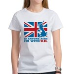 I'm With UK Women's T-Shirt