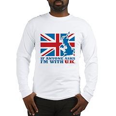 I'm With UK Long Sleeve T-Shirt