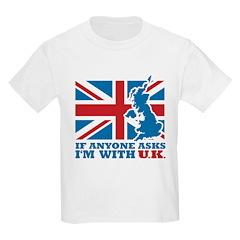 I'm With UK T-Shirt