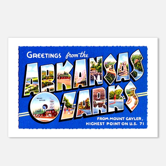 Arkansas Ozarks Greetings Postcards (Package of 8)
