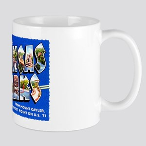 Arkansas Ozarks Greetings Mug