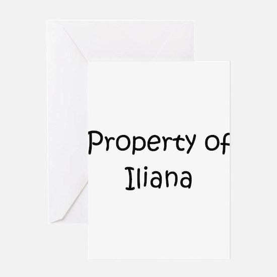 Unique Iliana Greeting Card