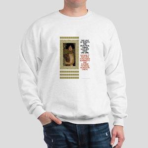 Beauty Motto Sweatshirt