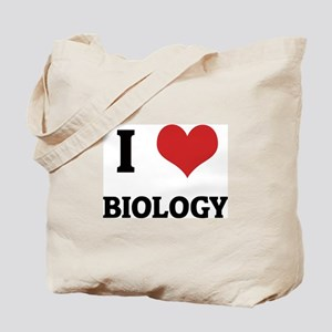 I Love Biology Tote Bag