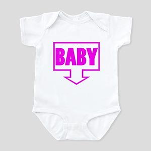 BABY PINK Infant Bodysuit
